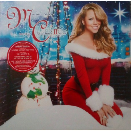 Mariah Carey ‎– Merry Christmas II You (Red Vinyl)