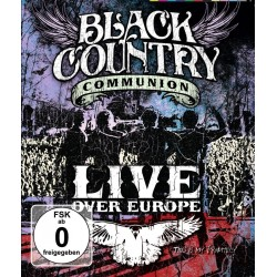 Black Country Communion - Live Over Europe (Blu Ray)