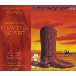 Giacomo Puccini - La Fanciulla Del West (Milan 1956)
