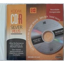 Kodak CD-R - Silver Plus - 650Mb - 74 Min
