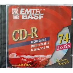 BASF - CD-R 74 1x - 12x