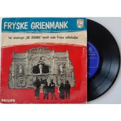 """Fryske Grienmank - Het draaiorgel  De Gouwe speelt oude Friese volksliedjes. (7""""- single)"""