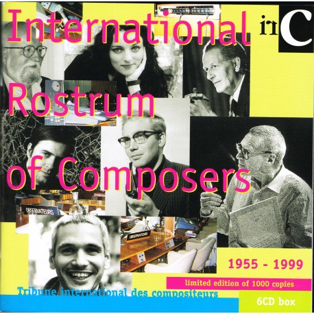 Various - International Rostrum of Composers 1955-1999 (6 CD)