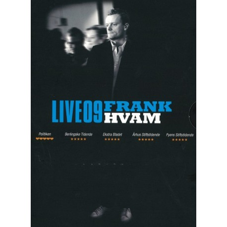 Frank Hvam – Live09 (DVD + CD)