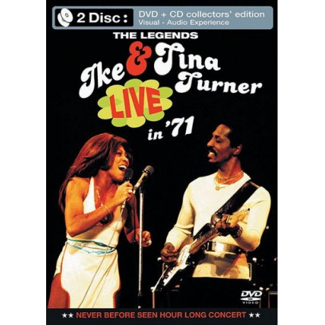 Ike & Tina Turner - Live in '71 (1971) (DVD+CD)