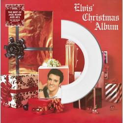Elvis Presley – Elvis' Christmas Album (LP, White)