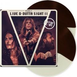 Dewolff – Live & Outta Sight II (2 LP, Brown-Cream Split + Download card)