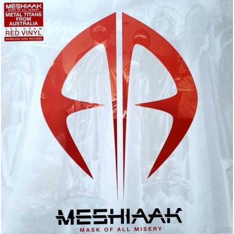 Meshiaak – Mask of all misery (LP, Red vinyl)