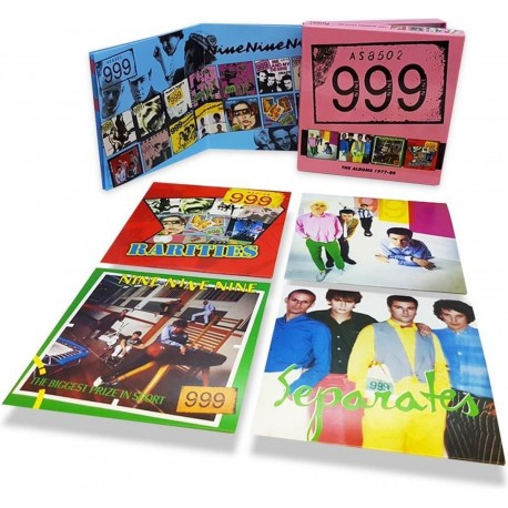 999: The Albums 1977 – 80 (5 CD)
