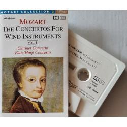 Mozart – The Concertos For Wind Instruments. Vol 1 (Cassette)