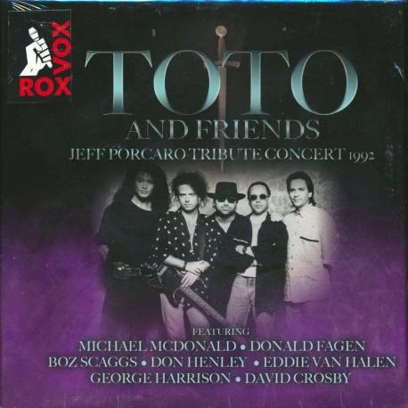 Toto And Friends - Jeff Porcaro Tribute Concert 1992 (3 CD Box)