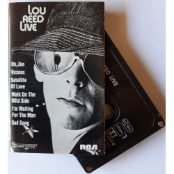 Lou Reed – Lou Reed Live (Cassette)