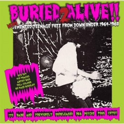 Various -  Buried Alive!! 2: More Demented Teenage Fuzz From Down Under 1964-1968 (6 CD Box)