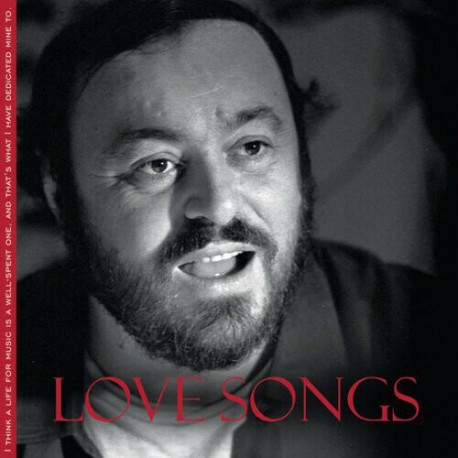 Luciano Pavarotti - Love Songs (CD)