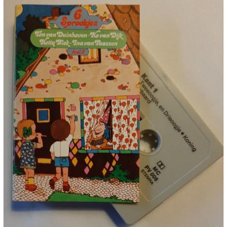 6 sprookjes in hoorspelvorm - Ton van Duinhoven, Hetty Blok (Cassette)