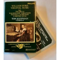 William Byrd, Ton Koopman – Virginal Music (Cassette)