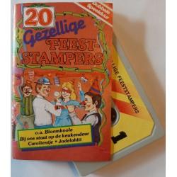 Various - 20 gezellige feest-stampers (Cassette)