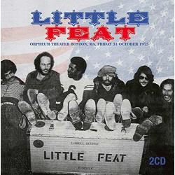 Little Feat – Orpheum Theater, Boston, October 31, 1975