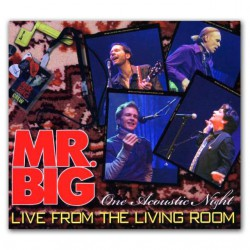 Mr. Big ‎– Live From The Living Room - One Acoustic Night