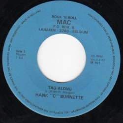 "Hank ""C"" Burnette ‎– Tag Along"