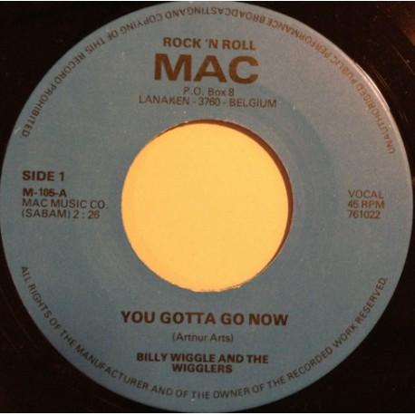 Billy Wiggle 'n' The Wigglers – You Gotta Go Now