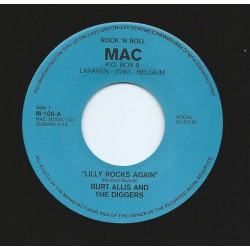 Burt Allis And The Diggers ‎– Lilly Rocks Again
