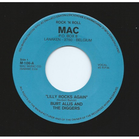 Burt Allis And The Diggers – Lilly Rocks Again