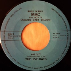 The Jive Cats ‎– Big Guy / My Lovin Baby