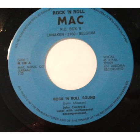 John Concroid – Rock 'N Roll Sound