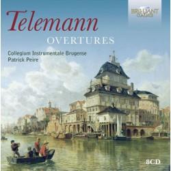 Teleman / Collegium Instrumentale Brugense, Patrick Peire – Telemann Overtures