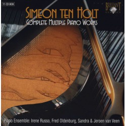 Simeon Ten Holt – Complete Multiple Piano Works