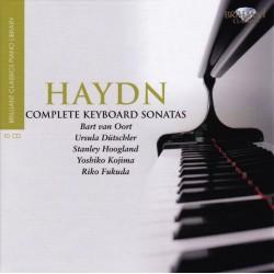 Haydn - Bart Van Oort, Ursula Dütschler, Stanley Hoogland, Yoshiko Kojima, Riko Fukuda – Complete Keyboard Sonatas