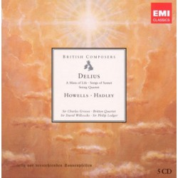 British Composers -Delius Howells Hadley