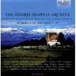 Andres Segovia Archives -Ermanno Brignolo