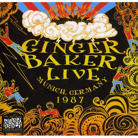 Ginger Bakers No Material - Live In Munich Germany 1987