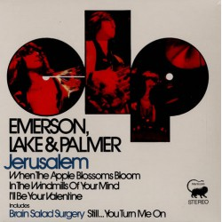 Emerson, Lake & Palmer ‎– Jerusalem