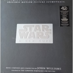 John Williams (4), The London Symphony Orchestra ‎– Star Wars: A New Hope 40th Anniversary 3-LP Collector's Edition