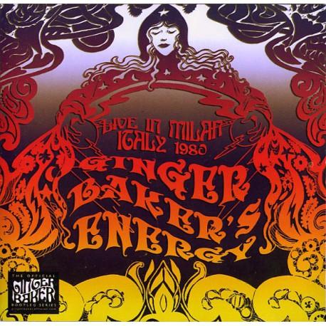 Ginger Baker's Energy – Live In Milan Italy 1980