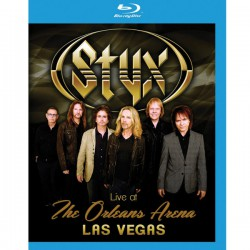 Styx ‎– Live At The New Orleans Arena Las Vegas