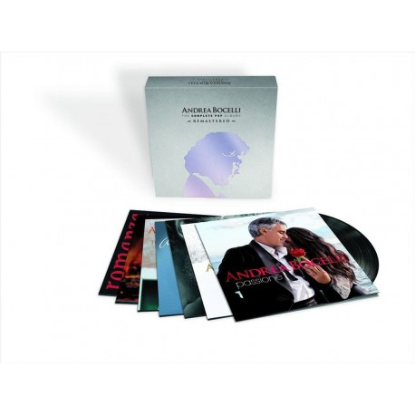 Andrea Bocelli - The Complete Pop Albums (Remastered)