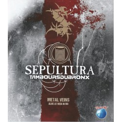 Sepultura & Les Tambours Du Bronx ‎– Metal Veins - Alive At Rock In Rio