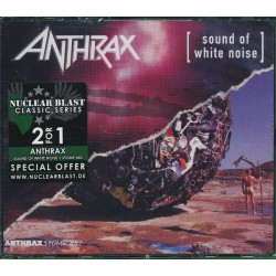 Anthrax ‎– Sound Of White Noise / Stomp 442