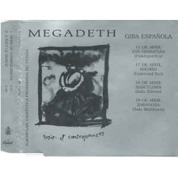 Megadeth ‎– Train Of Consequences