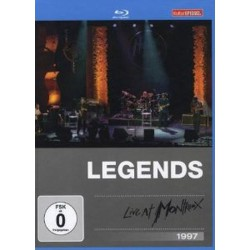 Legends Live At Montreux 1997 - Eric Clapton, Steve Gadd, Marcus Miller, Joe Sample, David Sanborn ‎