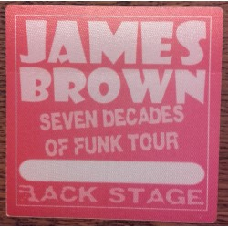 James Brown - Backstage Pass
