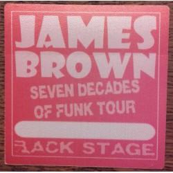 James Brown - Backstage Pass