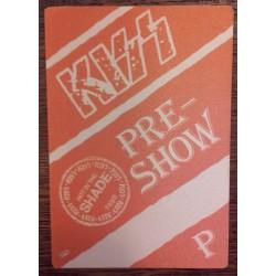 Kiss - Backstage Pass