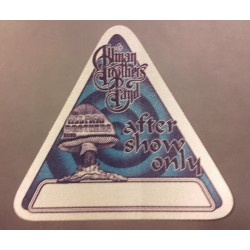 Allman Brothers Band - Backstage Pass