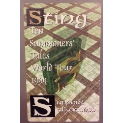 Sting - Backstage Pass