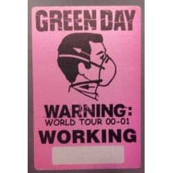 Green Day - Backstage Pass